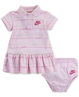 Nike Baby Girls Printed Polo Dress