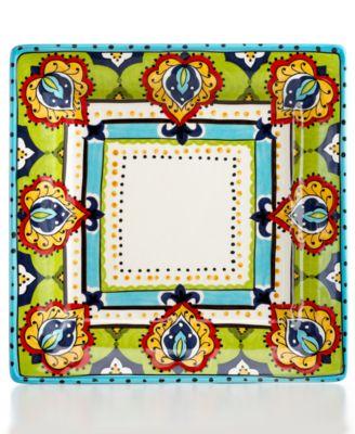 Espana Bocca Square Dinner Plate