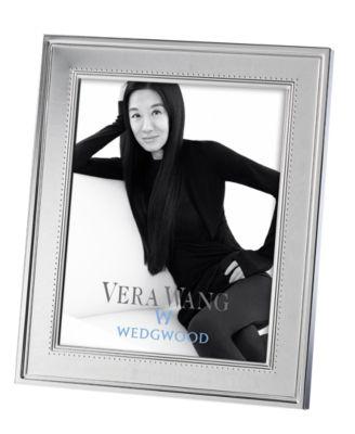 "Vera Wang Wedgwood Grosgrain 8"" x 10"" Frame"