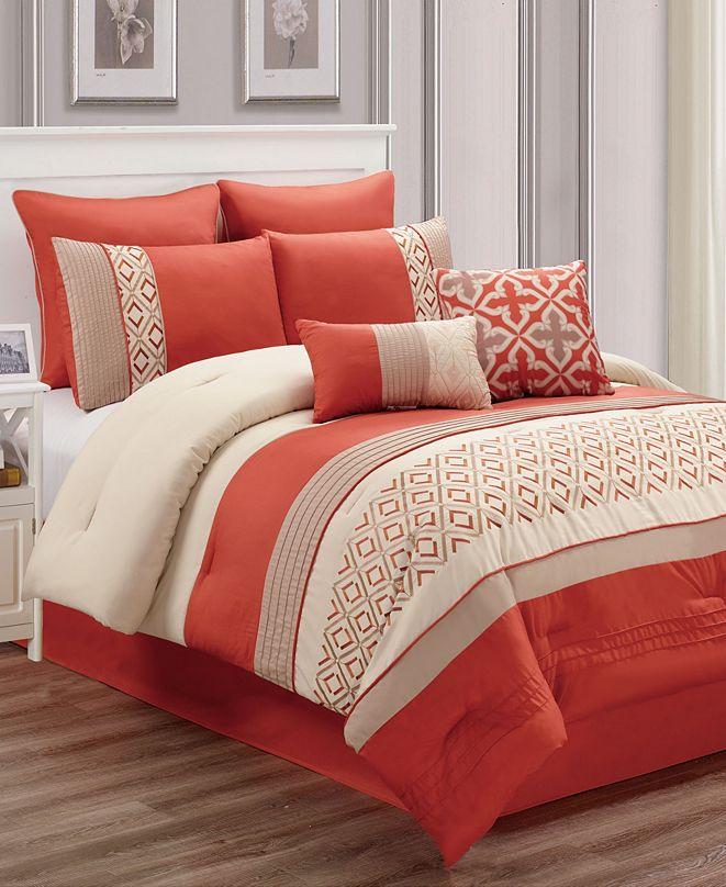 Riverbrook Home Janna 8 Pc Queen Comforter Set