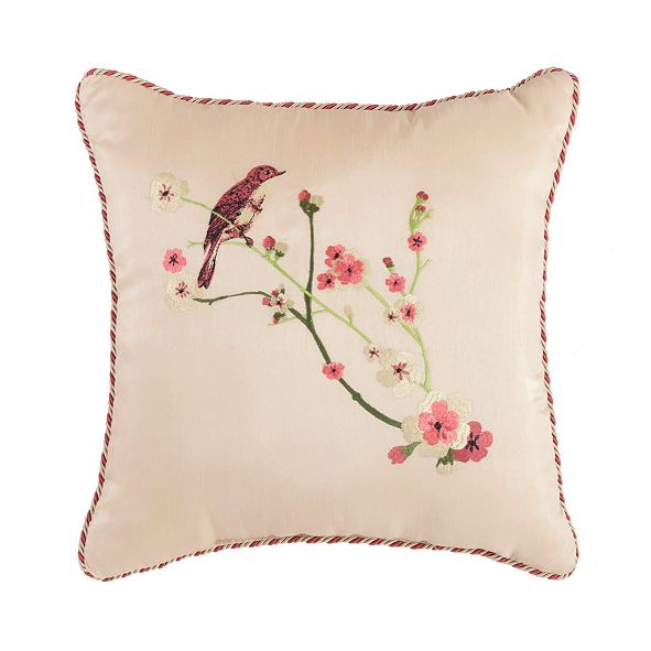 "Croscill Blyth 16"" x 16"" Fashion Decorative  Pillow"