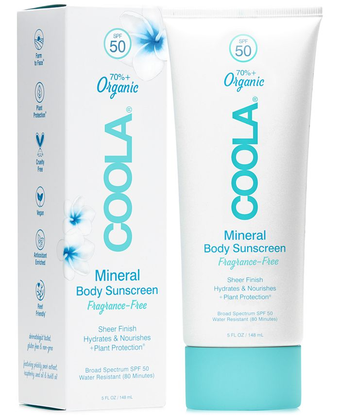 COOLA - Coola Fragrance-Free Mineral Body Sunscreen SPF 50, 5-oz.