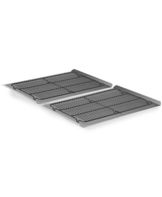Calphalon Nonstick 4 Piece Cookie Sheet & Cooling Rack Set