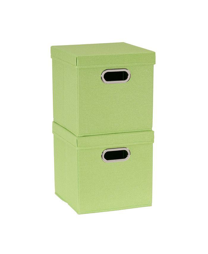 Household Essentials - 2-Pc. Apple Heather Storage Box Set