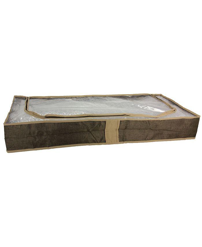 Household Essentials - Coffee Linen Under the Bed Storage Bag