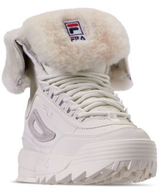 Disruptor Shearling Sneaker Boots