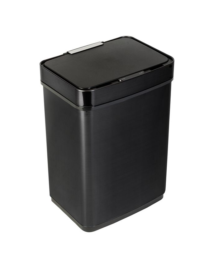 Honey Can Do - 50L Stainless Steel Trash Can with Motion Sensor