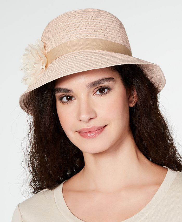 August Hats - Lace Flower Cloche