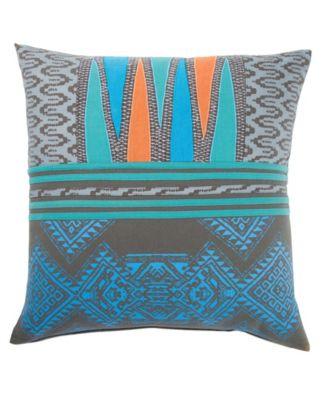 "Museum Ifa By Mesa Geometric Down Throw Pillow 22"""