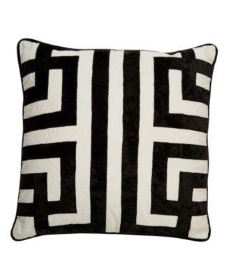 """Nikki Chu By Ordella Geometric Down Throw Pillow 22"""""""