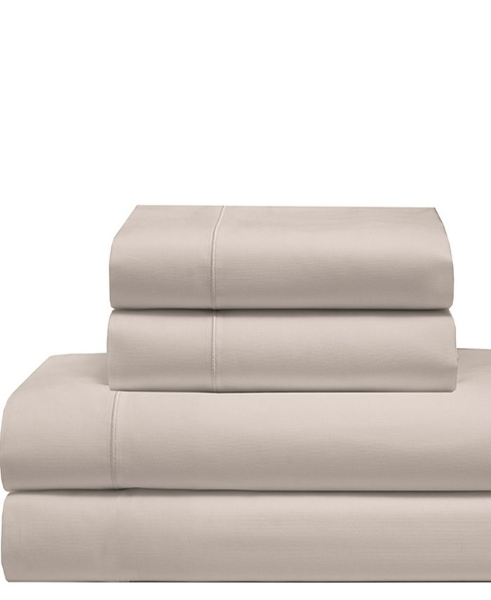 Elite Home - Cool Comfort Cotton Solid Sheet Sets