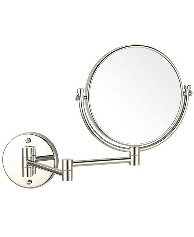 Nameeks Glimmer Double Sided Wall-Mounted 3x Makeup Mirror