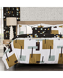 Siscovers Reconstruction 6 Piece Cal King High End Duvet Set