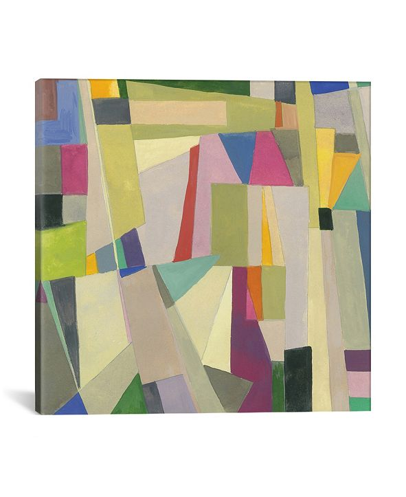 """iCanvas """"London"""" By Kim Parker Gallery-Wrapped Canvas Print - 12"""" x 12"""" x 0.75"""""""