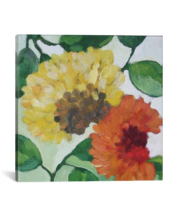 """iCanvas """"Gabrielle'S Garden I"""" By Kim Parker Gallery-Wrapped Canvas Print - 37"""" x 37"""" x 0.75"""""""