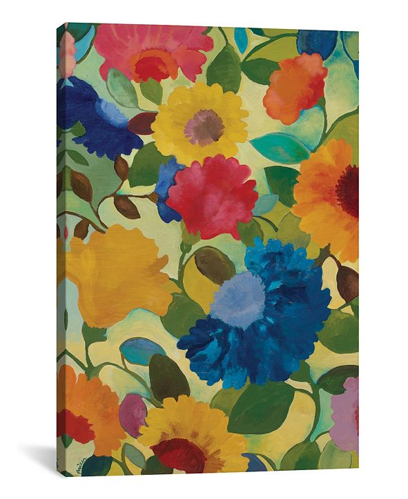 "iCanvas ""Love Flowers Ii"" By Kim Parker Gallery-Wrapped Canvas Print - 26"" x 18"" x 0.75"""