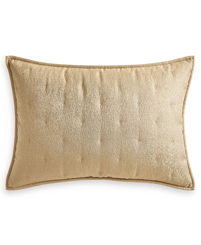 Hotel Collection - Metallic Stone Quilted King Sham