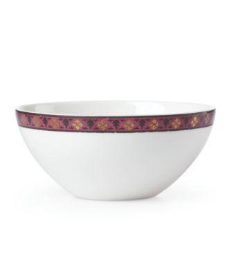 Global Tapestry Garnet Mandala  Dip Bowl