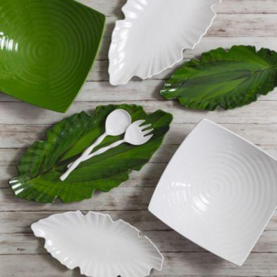 Zen Melamine Green Serving Bowl