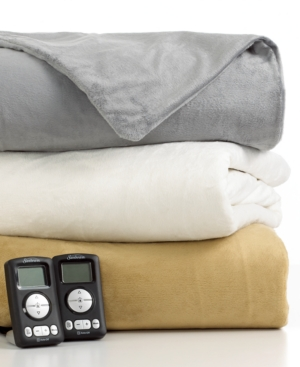 Slumber Rest Electric Blanket, Royal Mink Queen Bedding