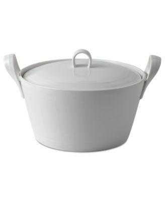 Royal Doulton Bakeware, 1815 White Casserole Dish