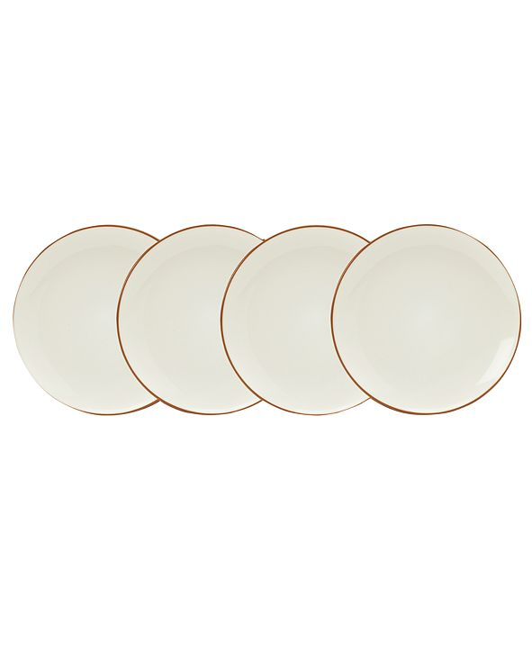 Noritake Dinnerware, Set of 4 Colorwave Mini Plates, Graphite