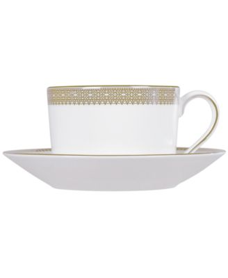 Vera Wang Wedgwood Dinnerware, Lace Gold Imperial Saucer