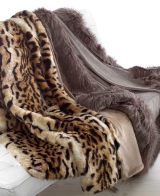 Charter Club Blankets Luxury Faux Fur Throw Bedding