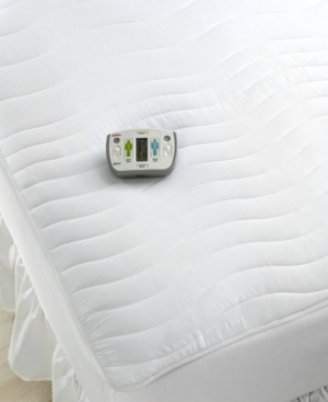 Sunbeam Bedding, Rest and Relieve Therapeutic Full Heated Mattress Pad Bedding