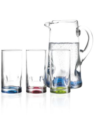 The Cellar Glassware, Silhouettes 7 Piece Set
