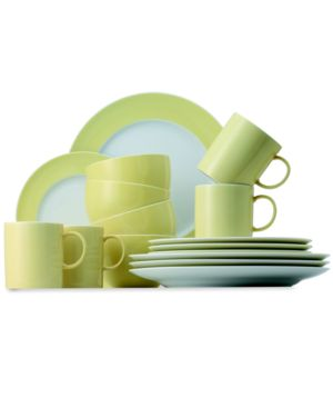 Thomas by Rosenthal Dinnerware, Sunny Day Pastel Yellow 16 Piece Set