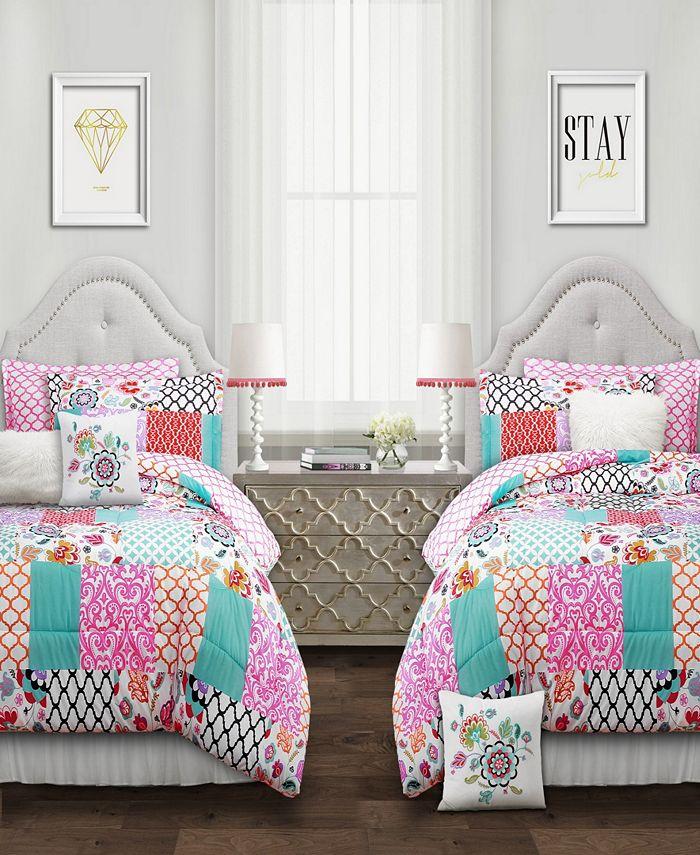 Lush Décor - Brookdale Patchwork 7-Pc. Comforter Sets
