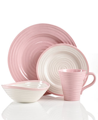 Portmeirion Dinnerware Sophie Conran Carnivale Amp Pink