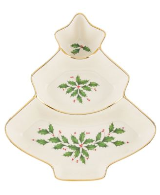 Lenox Serveware, Holiday Tree Divided Server