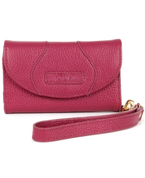 Bodhi Wallet, Italian Leather iPhone Wristlet