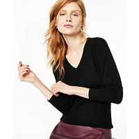 Deals on Charter Club V-Neck Cashmere Sweater Regular & Petite