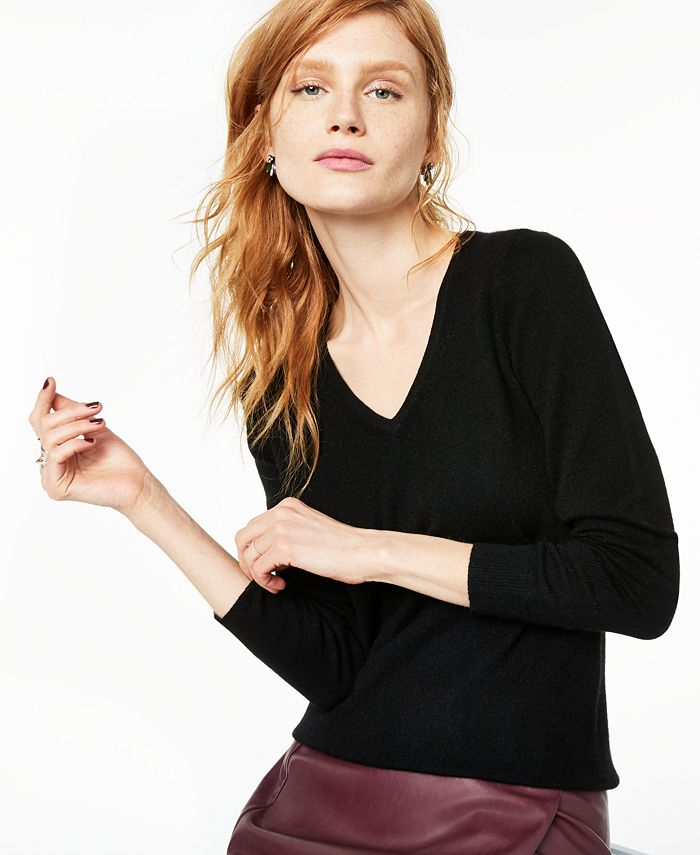 Charter Club - V-Neck Cashmere Sweater