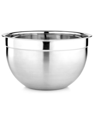 Martha Stewart Collection Stainless Steel Mixing & Prep Bowl, 7.4 Qt., Only at Macy's