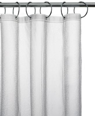 Charter Club Embossed Shower Curtain Liner