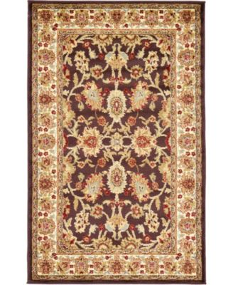 "Passage Psg3 Brown 3' 3"" x 5' 3"" Area Rug"