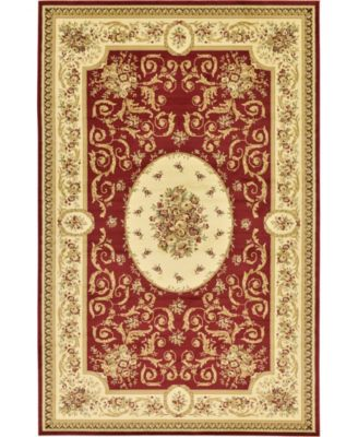 "Belvoir Blv4 Red 10' 6"" x 16' 5"" Area Rug"