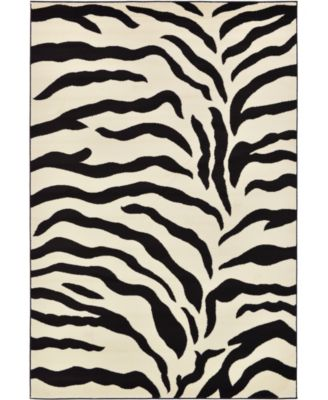 Maasai Mss3 Ivory 6' x 9' Area Rug