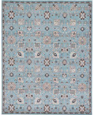Wisdom Wis1 Light Blue 8' x 10' Area Rug