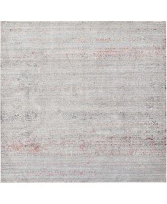 Malin Mal8 Gray 8' x 8' Square Area Rug