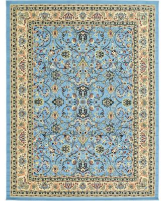 Arnav Arn1 Light Blue 9' x 12' Area Rug