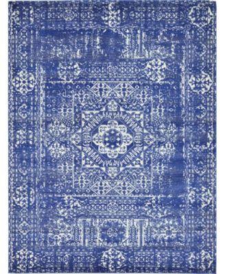 Wisdom Wis3 Royal Blue 9' x 12' Area Rug