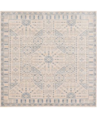 Caan Can3 Beige 8' x 8' Square Area Rug