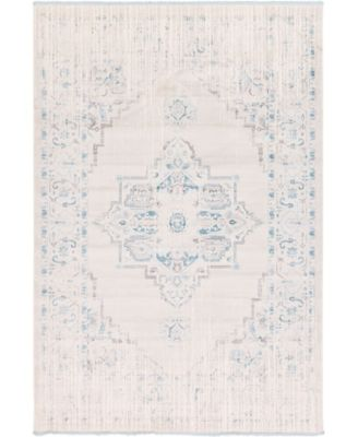 """Norston Nor2 Ivory 8' x 11' 4"""" Area Rug"""