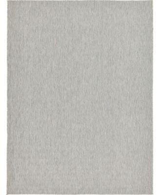 Pashio Pas6 Light Gray 9' x 12' Area Rug
