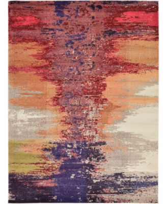 Newwolf New2 Pink 8' x 11' Area Rug